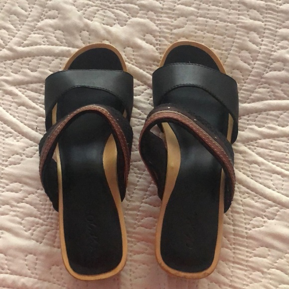 74db88492 OluKai Shoes | Womens Sandals Size 8 Leather | Poshmark